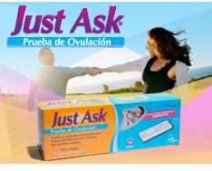 Just Ask® Prueba de Ovulación